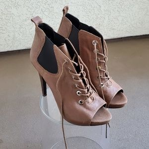 Nine West Lace Up Booties